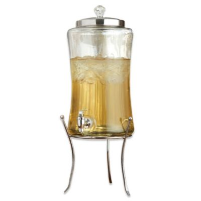 Diamond Beverage Dispenser with Stand