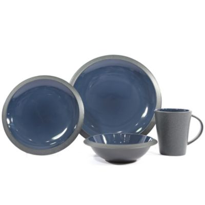 BAUM Blue Dinnerware