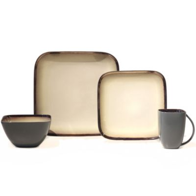 Baum Harris 16-Piece Dinnerware Set in Ivory