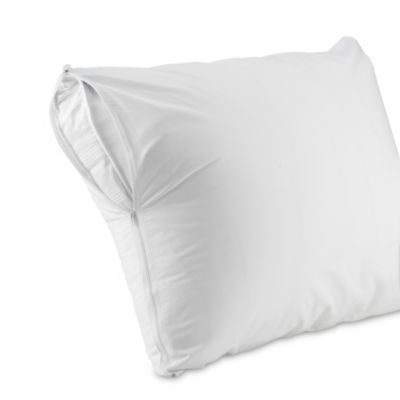 Zippered Standard/Queen Pillow Protectors (Set of 2)