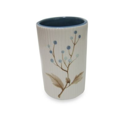 Croscill® Christina Tumbler in Blue