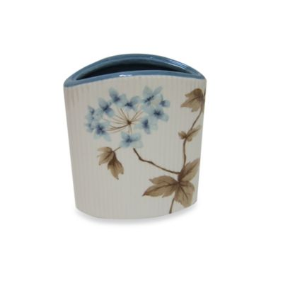 Croscill Blue Toothbrush Holder