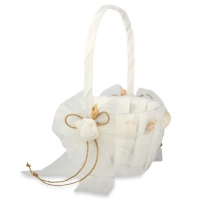 Ivy Lane Design™ Seashore Flower Girl Basket