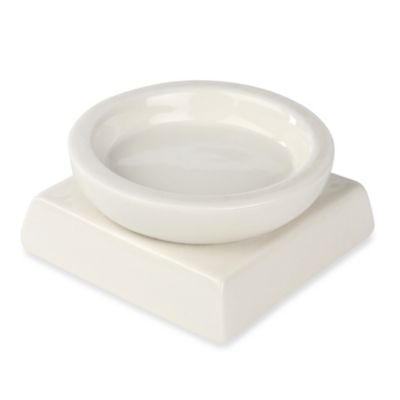 Ivy Lane Design™ Porcelain Circle/Square Candle Holder in White
