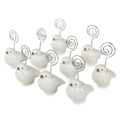 Ivy Lane Design™ Bird Place Card Holder (Set of 10)