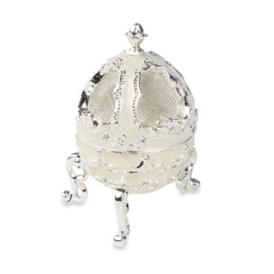 Ivy Lane Design™ Decorative Egg-Shaped Ring Holder Box