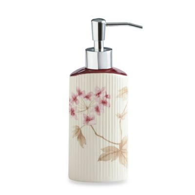 Croscill® Christina Lotion Dispenser in Rose