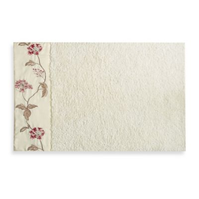 Croscill® Christina Bath Rug in Rose