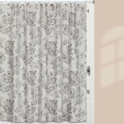 Creative Bath™ 72-Inch x 72-Inch Sketchbook Shower Curtain
