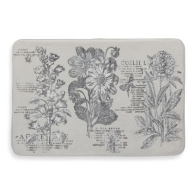 Creative Bath™ Sketchbook Bath Rug