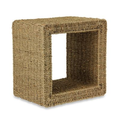 Household Essentials Seagrass Mid-Size End Table