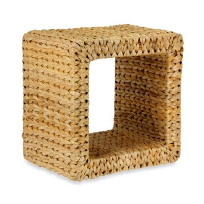 Household Essentials Natural Banana Leaf Mid-Size End Table