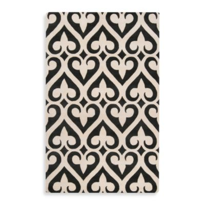 Jill Rosenwald Zuna 2-Foot x 3-Foot Rug in Grey