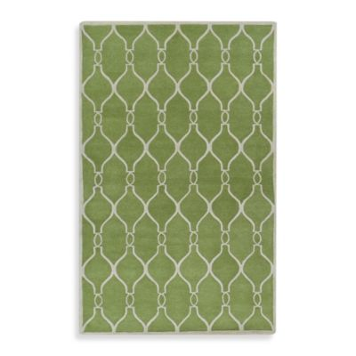 Jill Rosenwald® Zuna 9-Foot x 13-Foot Rug in Green