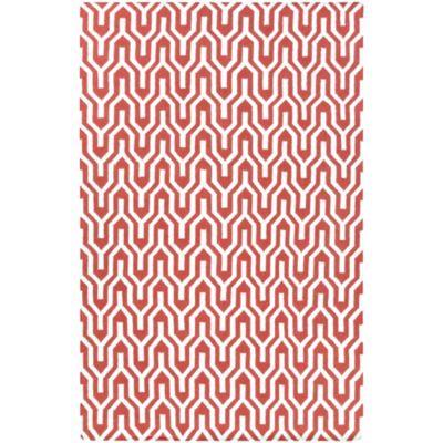 Jill Rosenwald Fallon Flat Weave 3-Foot 6-Inch x 5-Foot 6-Inch Rug in Orange