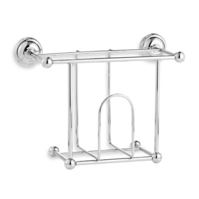 Bathroom Wall Magazine Rack