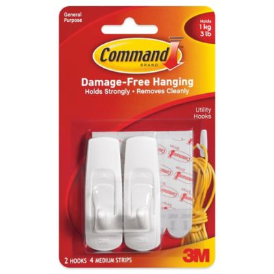3M Command™ 2-Pack Medium Hooks