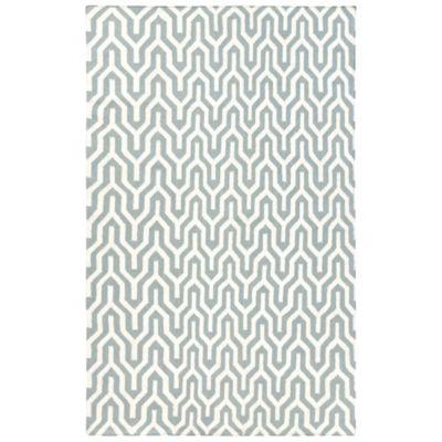 Jill Rosenwald Fallon Flat Weave 2-Foot 6-Inch x 8-Foot Rug in Olive
