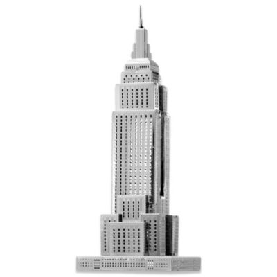 ICONX 3D Laser Cut Metal Model Empire State Building