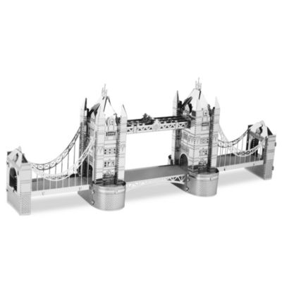MetalEarth 3D Laser Cut Metal Model London Tower Bridge