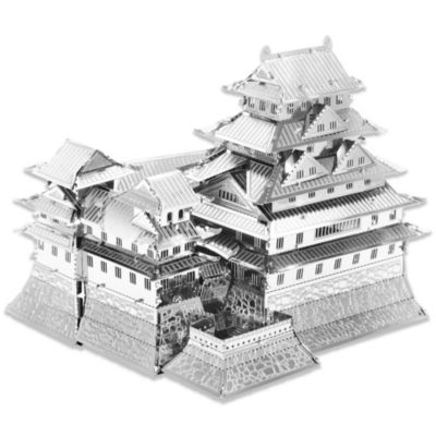MetalEarth 3D Laser Cut Metal Model Himeji Castle