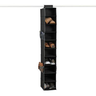 Studio 3B™ 10-Shelf Shoe Organizer in Black