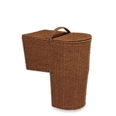 Household Essentials® Rounded Paper Rope Stairstep Basket