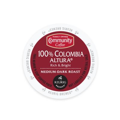18-Count Community Coffee® Colombia Altura for Single Serve Coffee Makers