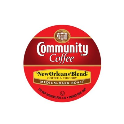 18-Count Community Coffee® New Orleans Blend for Single Serve Coffee Makers