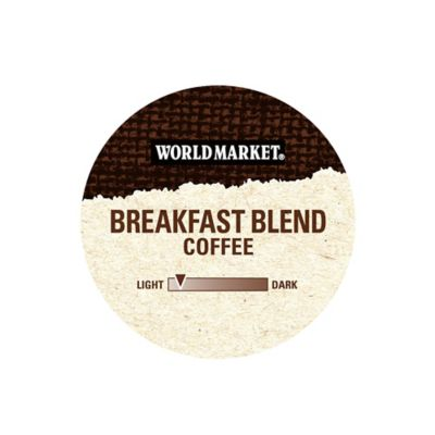 18-Count Cost Plus World Market® Breakfast Blend Coffee for Single Serve Coffee Makers