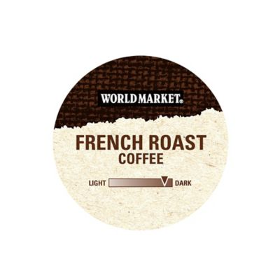 18-Count Cost Plus World Market® OneCup™ French Roast Coffee for Single Serve Coffee Makers