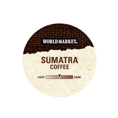 18-Count Cost Plus World Market® OneCup™ Sumatra Coffee for Single Serve Coffee Makers