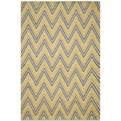 Momeni Geo 5-Foot x 7-Foot Rug in Gold
