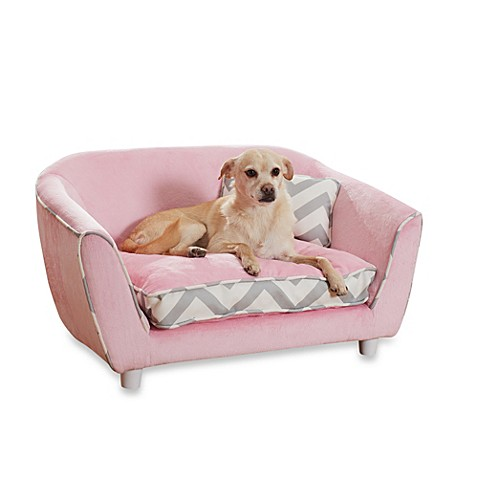 Enchanted Home Pet Emilies Nook Sofa Bed In Pink