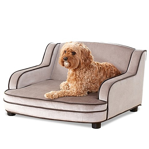 Enchanted Home Pet Cameron Sofa Bed In Grey Bed Bath Beyond