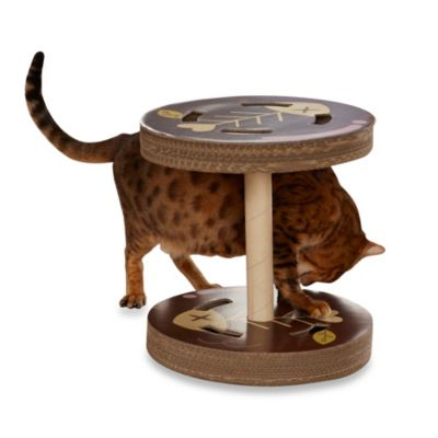 Enchanted Home ScratchZone So Catty Cardboard Cat Scratcher