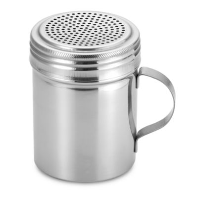 All Purpose Stainless Steel 10-Ounce Shaker with Handle