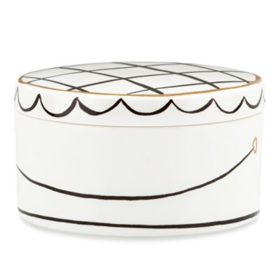 kate spade new york Daisy Place™ Keepsake Hat Box