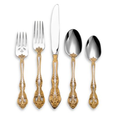 Golden Michelangelo 5-Piece Place Setting by Oneida