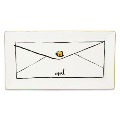 kate spade new york Daisy Place Snail Mail Tray