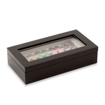 20-Pair Cufflink Collectors Case