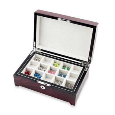 30-Pair Cufflink Storage Case