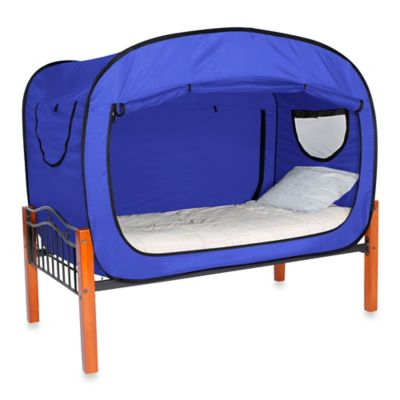 Privacy Pop Size Queen Bed Tent in Tan