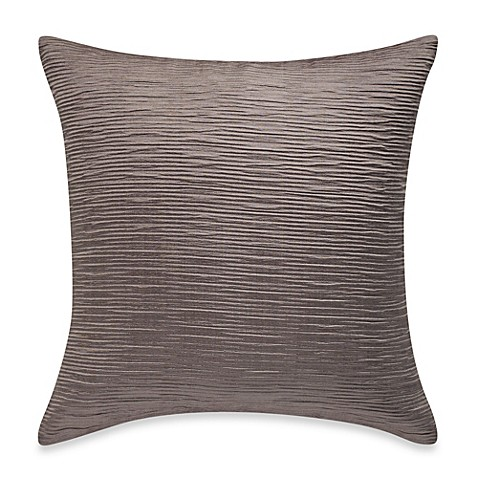 Myop Throw Pillow Covers : MYOP Sonoma Square Throw Pillow Cover in Taupe - Bed Bath & Beyond