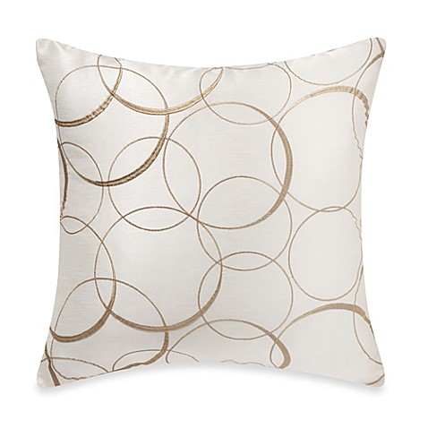 Myop Throw Pillow Covers : MYOP Orbitz Square Throw Pillow Cover in Eggshell - Bed Bath & Beyond