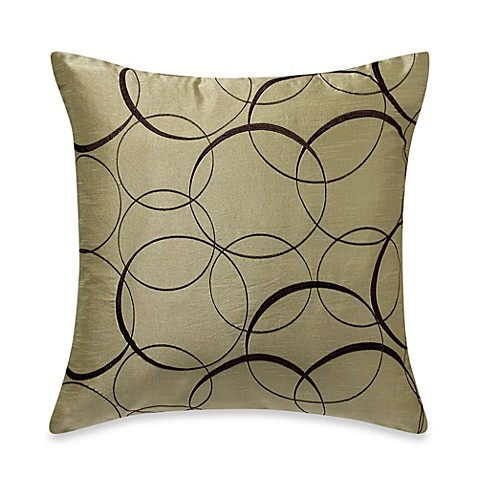 MYOP Orbitz Square Throw Pillow Cover in Apple Green - Bed Bath & Beyond