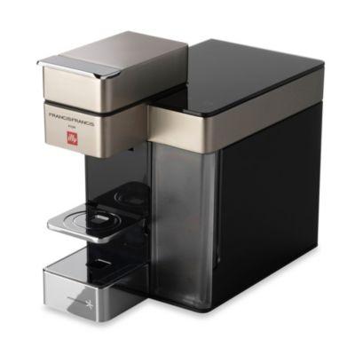 illy® Francis Francis! Model Y5 iperEspresso Machine in Satin