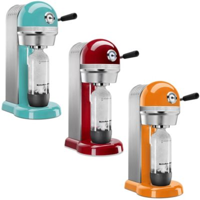 KitchenAid™ Sparkling Beverage Maker Powered by SodaStream® in Tangerine