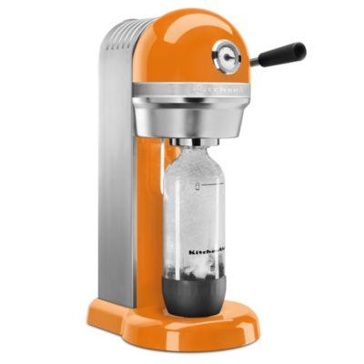 KitchenAid™ Sparkling Beverage Maker Powered by SodaStream® in Tangerine