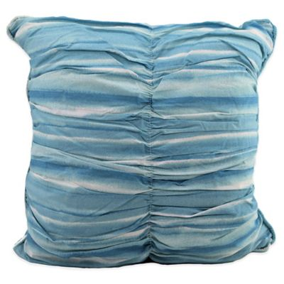 Watercolor Square Toss Pillow